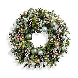 Sagefield Cordless Wreath