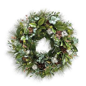 New Yule Cordless Wreath