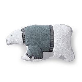 Polar Bear Shaped Pillow