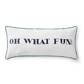 Oh What Fun Pillow