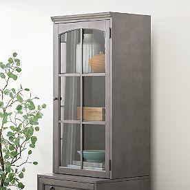 Vista Modular Glass Door Cabinet
