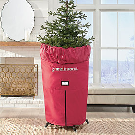 Upright Slim Tree Storage