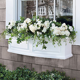 Nantucket Easy-Care Window Box Planter