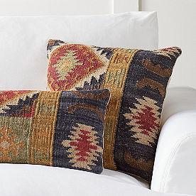 Doruk Kilim Throw Pillow