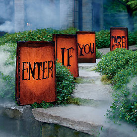 Enter If You Dare Luminaries