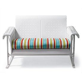 Retro Loveseat Cushion