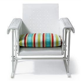 Retro Gliding Chair Cushion