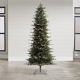 bright pre lit christmas tree mountain pine pencil christmas tree