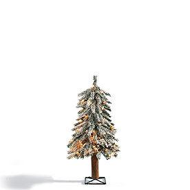 2-ft. Pre-lit Alpine Tree