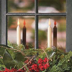 Set of Two Battery Operated Window Candles
