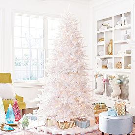 White Iced Fir Tree