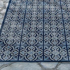Sydney Tile Outdoor Rug & Mat