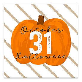 October 31 Pumpkin Canvas
