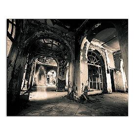 Haunted Hotel Canvas