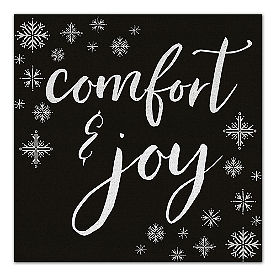 Comfort and Joy Canvas