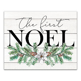 First Noel Canvas