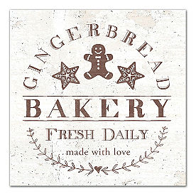 Gingerbread Bakery Canvas