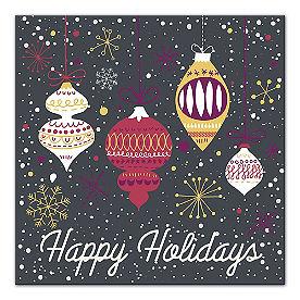 Happy Holidays Ornament Canvas