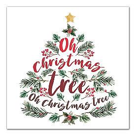 Oh Christmas Tree Canvas