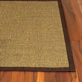 Bordered Jumbo Boucle Sisal Rug