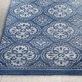 Avalon Medallion Outdoor Rug