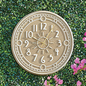Ashland Outdoor Wall Clock