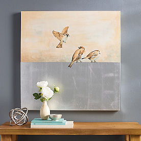 Little Winter Birds Wall Art