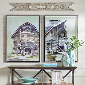 Hillside Barn Wall Art