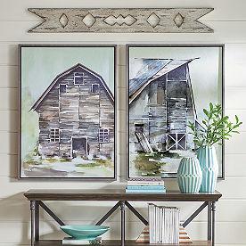 Hillside Barn Wall Art