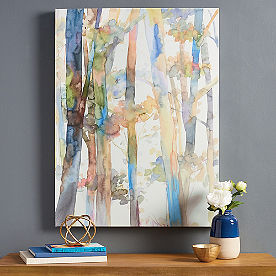 Watercolor Woods Wall Art II