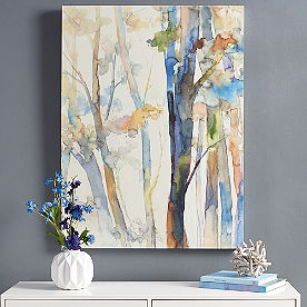 Watercolor Woods Wall Art I