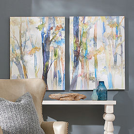 Watercolor Woods Wall Art