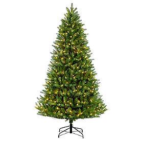 Pre-lit Green Mountain Fir Tree