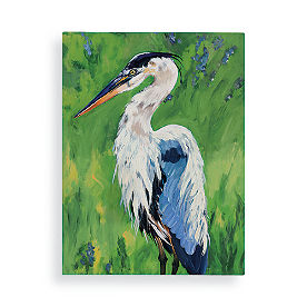 Happy Heron Wall Art