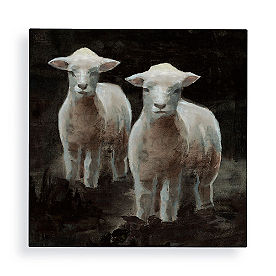 Baby Lambs Wall Art