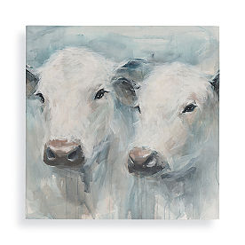 Cow Friends Wall Art