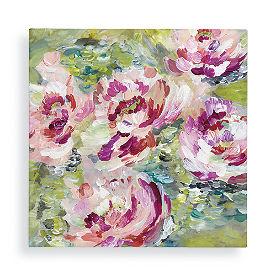 Pink Garden Wall Art