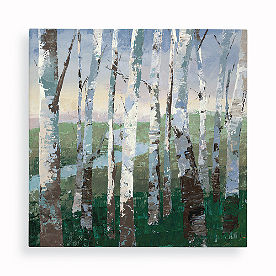 Birch Forest Wall Art