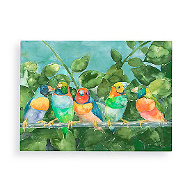 Lovebirds Wall Art
