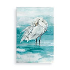 White Stork II Wall Art