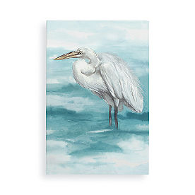 White Stork I Wall Art