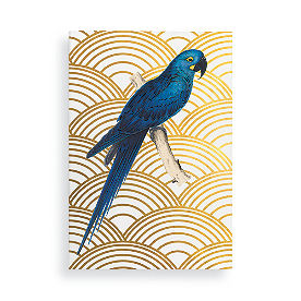 Blue Parrot Wall Art