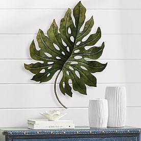 Large Palm Metal Art