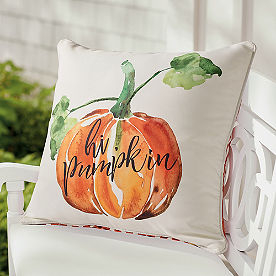 Hi Pumpkin Pillow