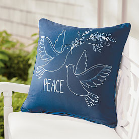 Peace Dove Pillow 18x18