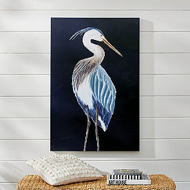 Blue Heron I Wall Art