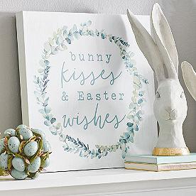 Bunny Kisses Canvas