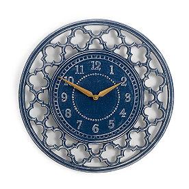Quatrefoil Clock
