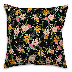 Chatham Wreath Floral Pillow