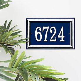 Wentworth Single Line Address Plaque